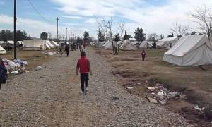 Νέα κρούσματα ηπατίτιδας στον καταυλισμό προσφύγων στο Κιλκίς