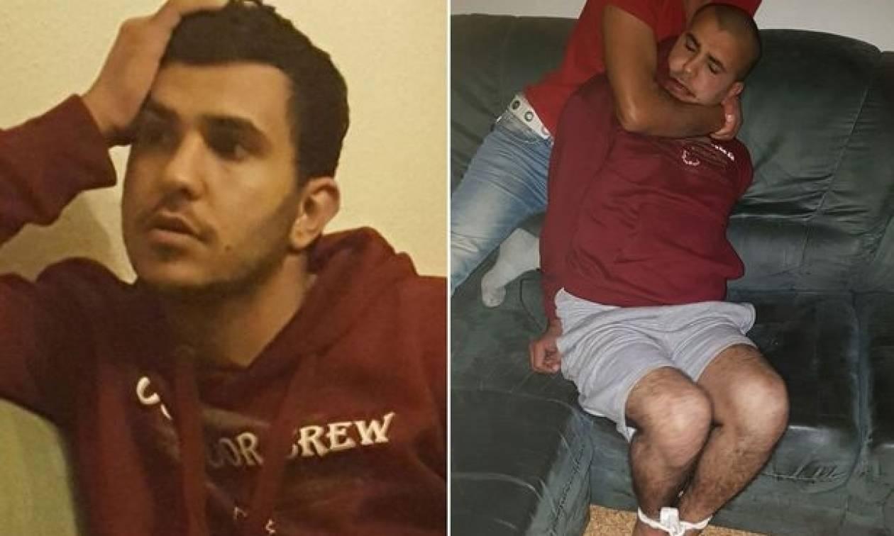 Ήρωες! Η απίστευτη στιγμή που Σύροι πρόσφυγες συλλαμβάνουν τον Νο.1 τρομοκράτη στη Γερμανία (Pics)