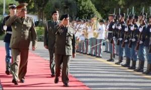 Επίσκεψη Διοικητή των Χερσαίων Δυνάμεων της Βουλγαρίας στο ΓΕΣ (pics)