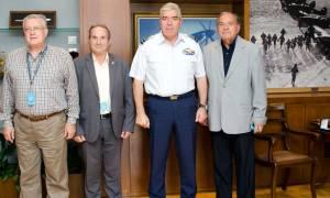 Ο Α/ΓΕΑ με Προέδρους Συλλόγων Αποφοίτων Σχολών Υπαξιωματικών της ΠΑ (pics)