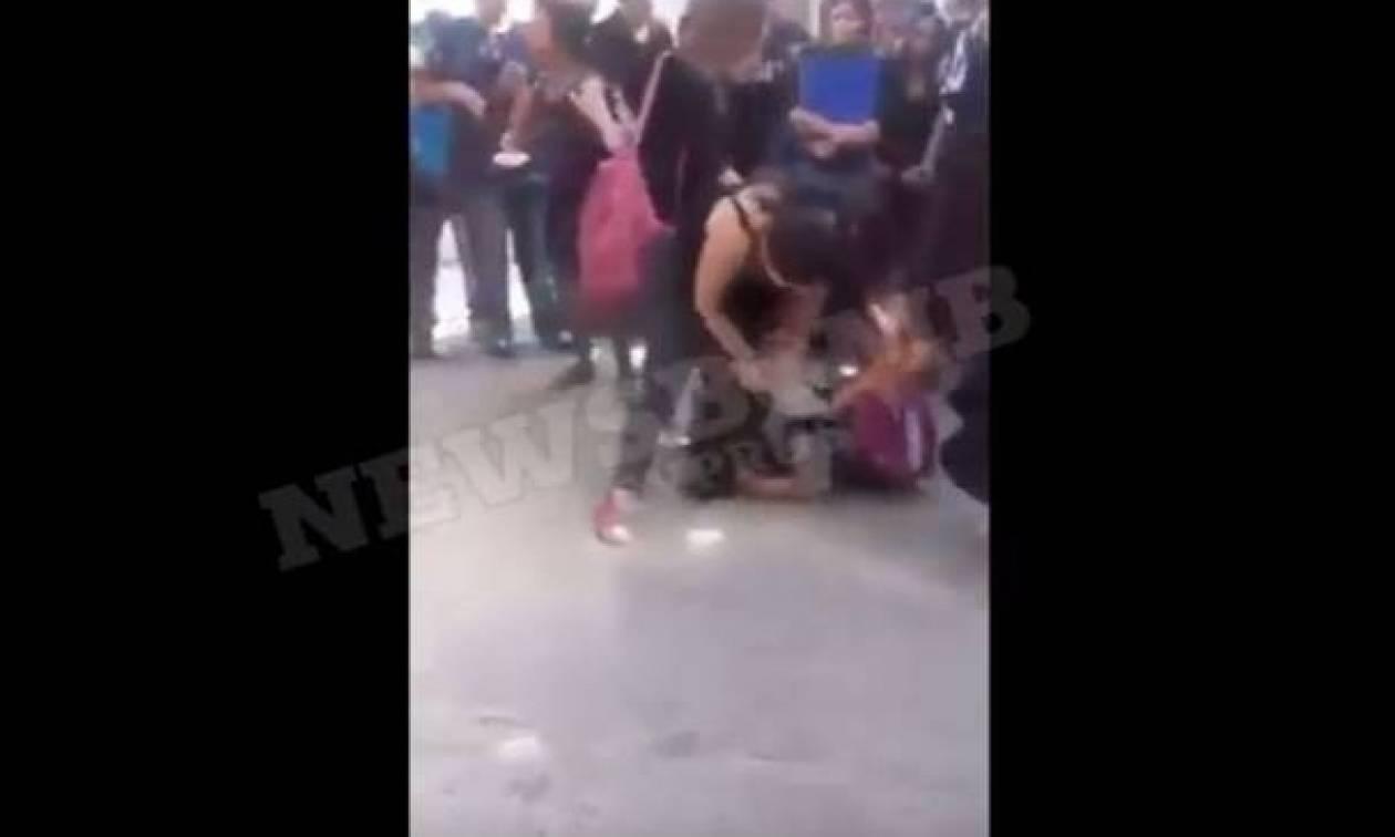 Τα βίντεο της οργής: Ανελέητος ξυλοδαρμός 16χρονης Κύπριας για τα μάτια ενός αγοριού