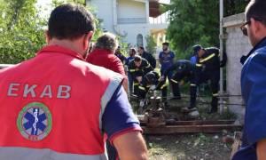 Θρίλερ στο Ναύπλιο: Αγρότης εγκλωβίστηκε σε πηγάδι - Καρέ καρέ η διάσωσή του