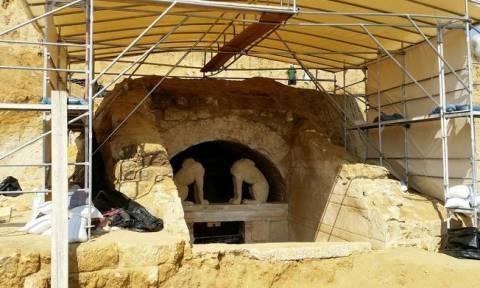 Νέα αποκάλυψη για Αμφίπολη: Γιατί γκρεμίστηκε αιφνιδιαστικά το βόρειο τείχος του μνημείου