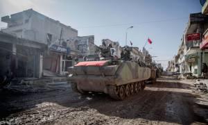 Τούρκοι και Τουρκομάνοι στρατιώτες κατέλαβαν τη θρησκευτική «πρωτεύουσα» των Τζιχαντιστών