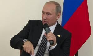 Μήνυμα Πούτιν προς ΗΠΑ: Μην μας ανακατεύετε στα εσωτερικά σας