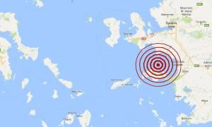 Σεισμός 4,3 Ρίχτερ βόρεια της Σάμου (pic)