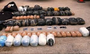 «Λαβράκι» στη Θράκη: Έκρυψαν 100 κιλά κάνναβης σε κρύπτη φορτηγού!