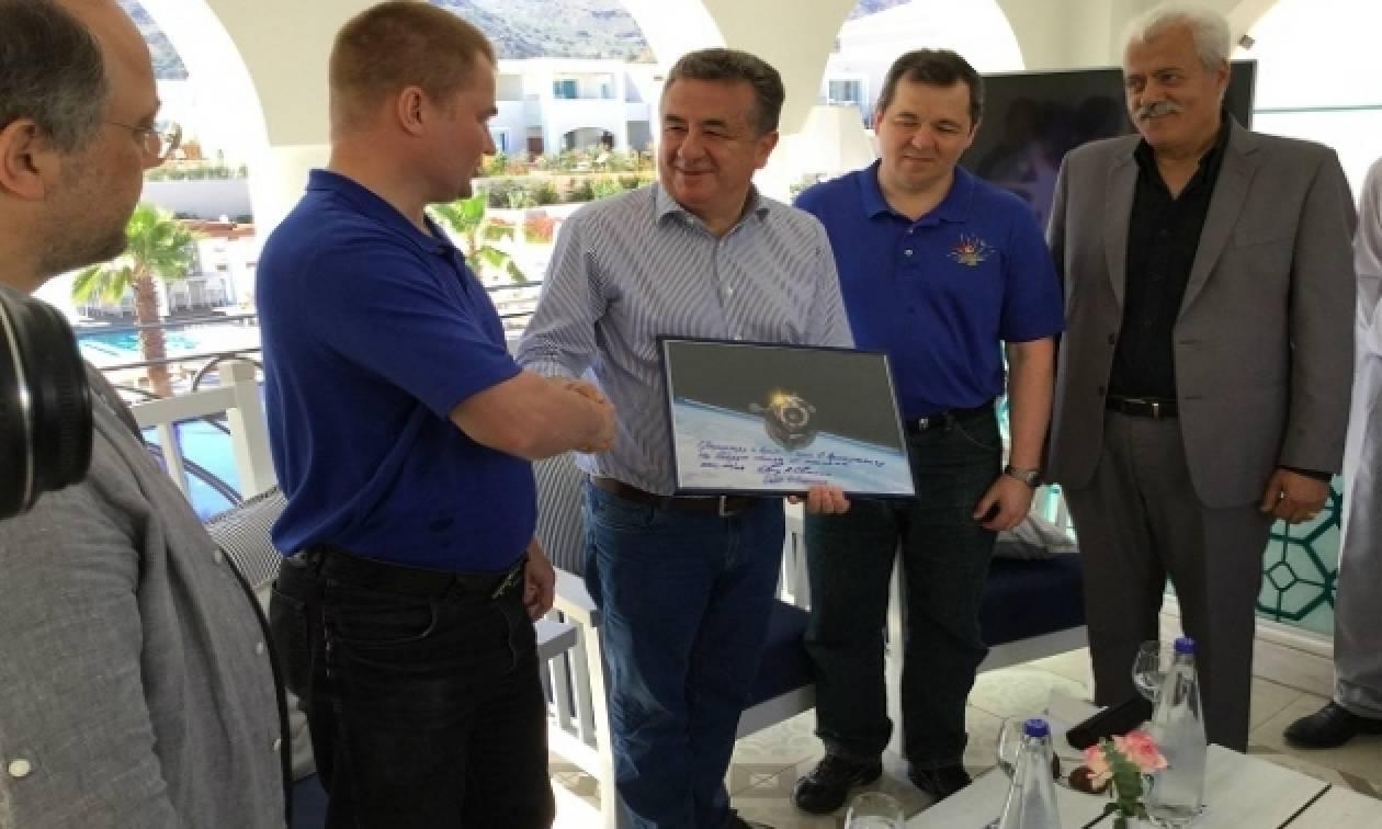 Στην Κρήτη για αποθεραπεία Ρώσοι κοσμοναύτες