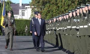Κυπριακό και διμερείς σχέσεις στο επίκεντρο επαφών Αναστασιάδη στο ιρλανδικό κοινοβούλιο