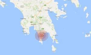 Σεισμός 3,7 Ρίχτερ στη Λακωνία (pic)
