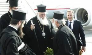 Στη Μύκονο ο Αρχιεπίσκοπος Ιερώνυμος (pics)