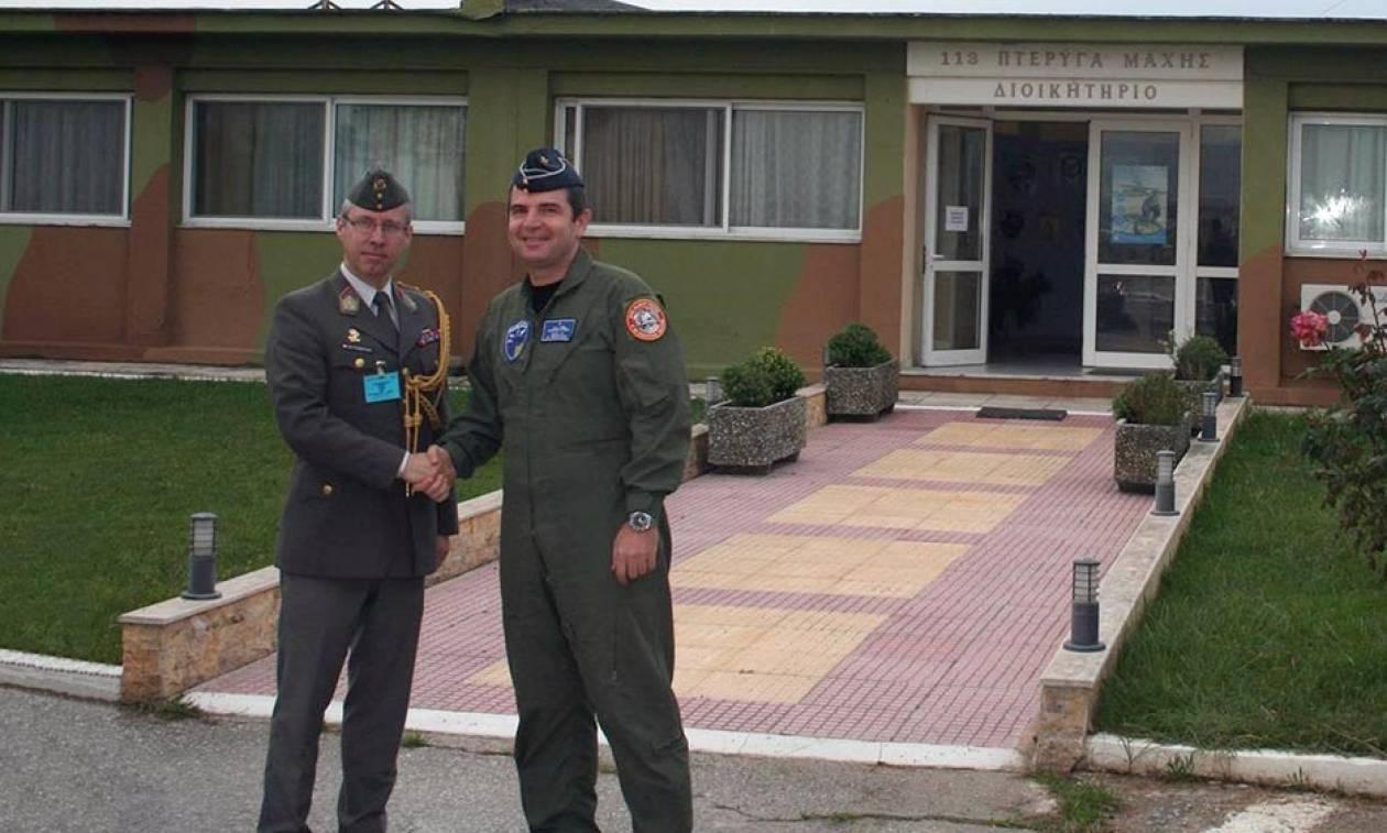 Πολεμική Αεροπορία: Επίσκεψη του ΑΚΑΜ της Αυστρίας στην 113ΠΜ (pics)