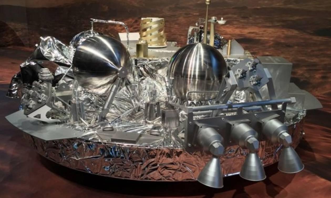 «Αγνοείται» το ευρωπαϊκό ρομπότ Schiaparelli στον Άρη (photos)