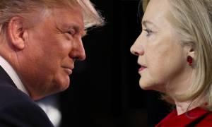 Προεδρικές εκλογές ΗΠΑ: Αντίστροφη μέτρηση για την τελευταία τηλεμαχία μεταξύ Χίλαρι-Τραμπ
