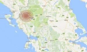 Σεισμός Ιωάννινα: Ισχυρός μετασεισμός 4,4 Ρίχτερ
