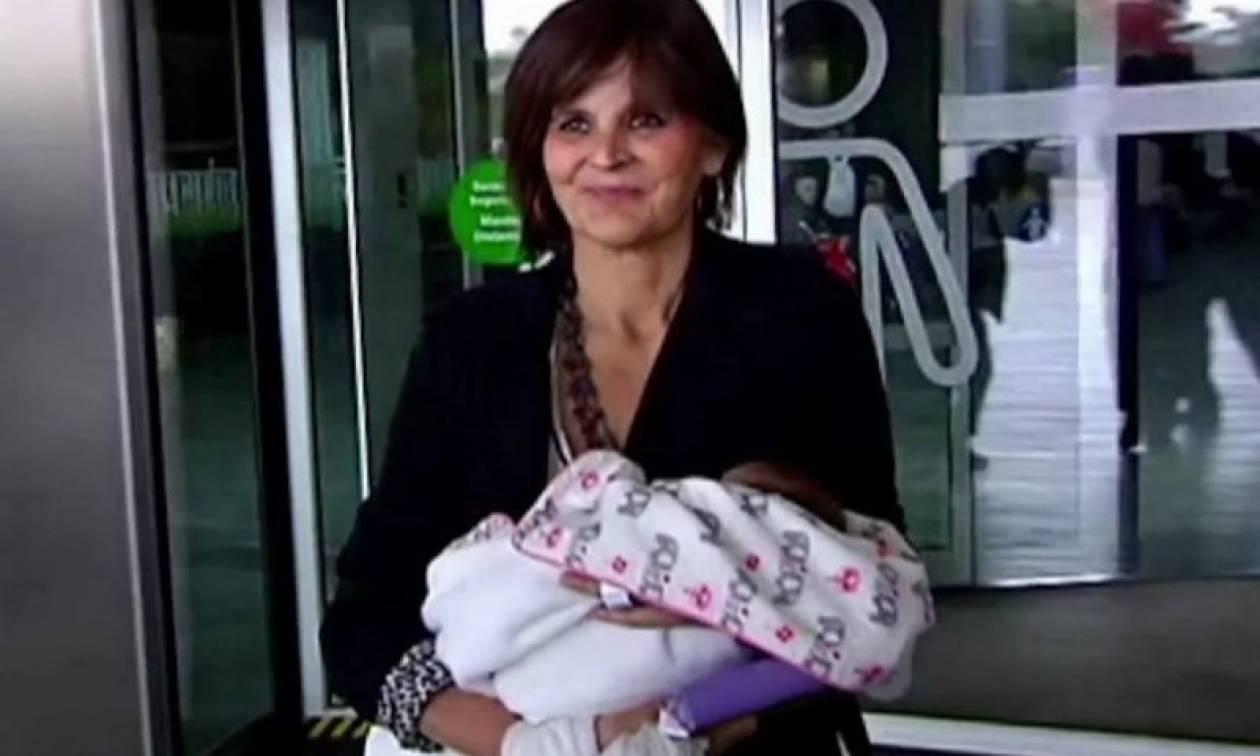 Ισπανία: Μια 62χρονη γέννησε ένα υγιέστατο κοριτσάκι