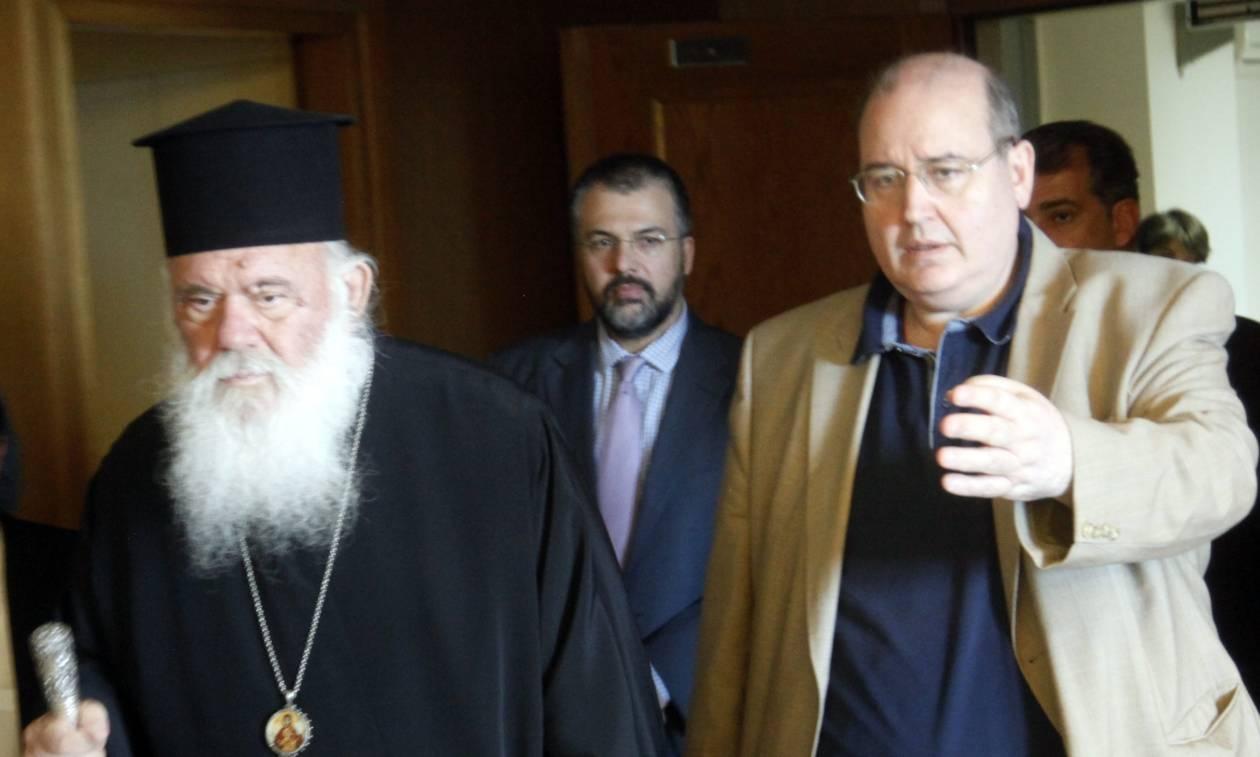 Προκαλεί ξανά ο Φίλης: Το 70% των πολιτών θέλει το διαχωρισμό Εκκλησίας - Κράτους