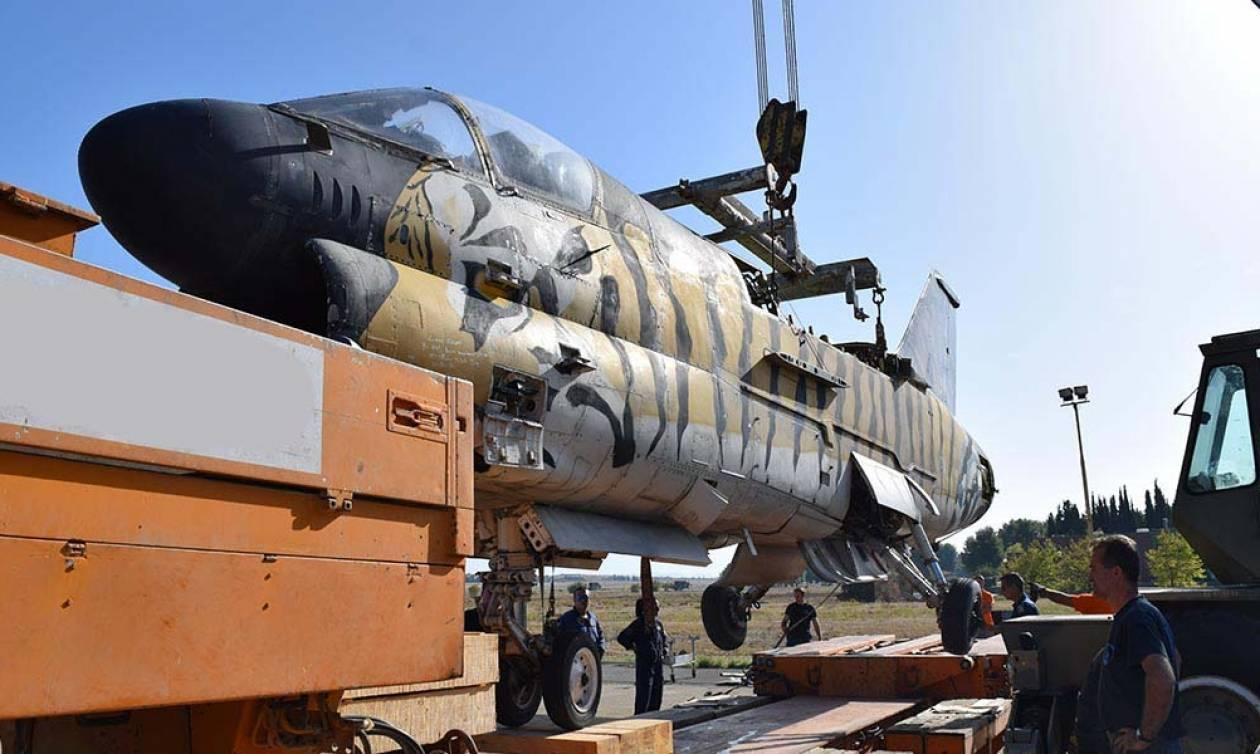 Στο Μουσείο της Πολεμικής Αεροπορίας μεταφέρθηκαν τα αποσυρμένα πολεμικά αεροσκάφη (pics)