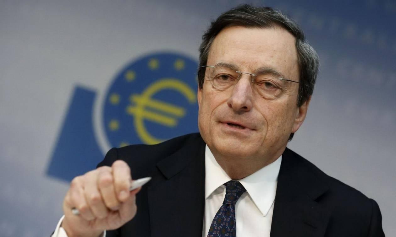 Ντράγκι: Πρώτα το χρέος μετά η ποσοτική χαλάρωση