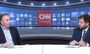 Σ. Καλαφάτης στο CNN Greece: Ευθύνη της κυβέρνησης η αποδυνάμωση του ΕΣΡ