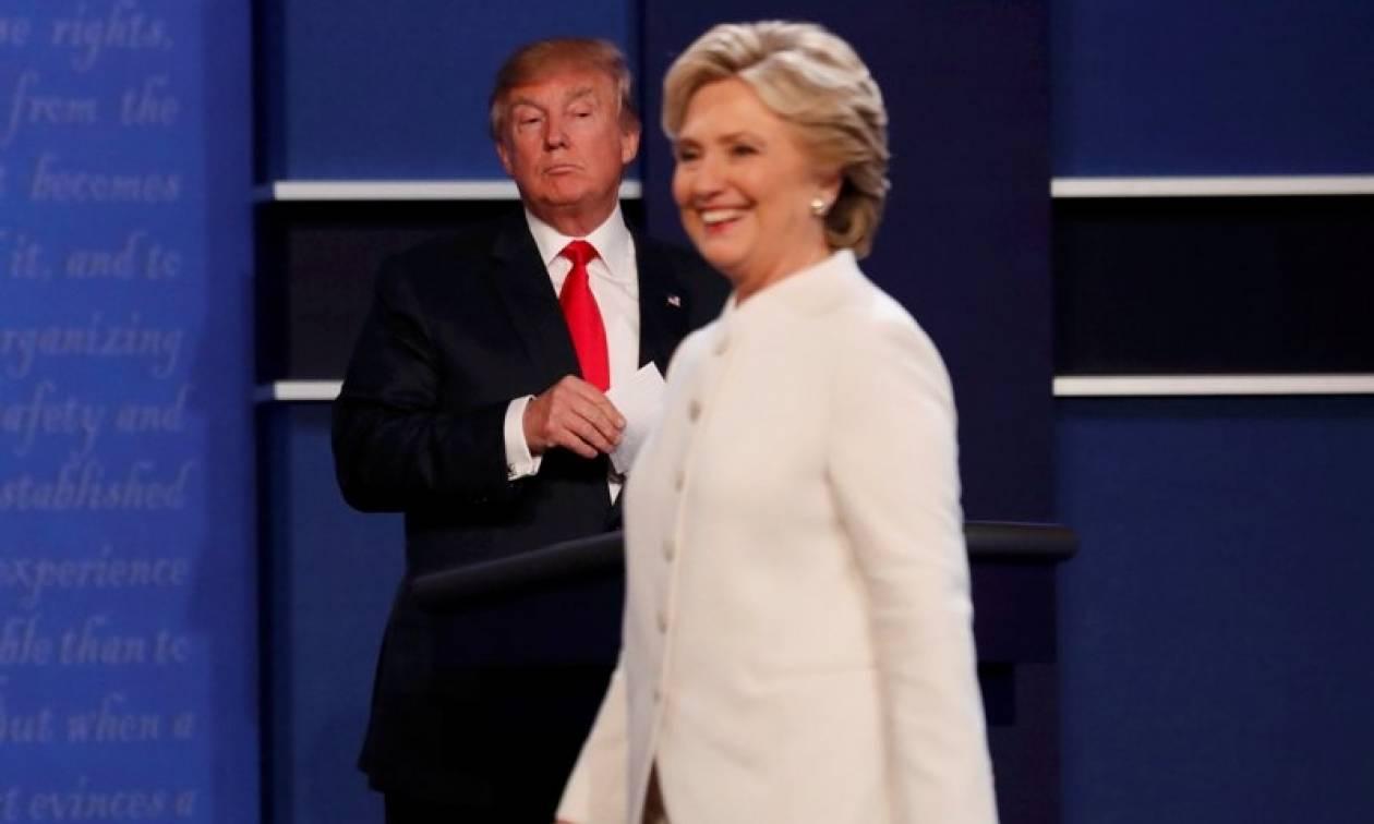 Προεδρικές εκλογές ΗΠΑ: Πώς ο Τραμπ «στρίμωξε» τη Χίλαρι στο τρίτο ντιμπέιτ (vids)