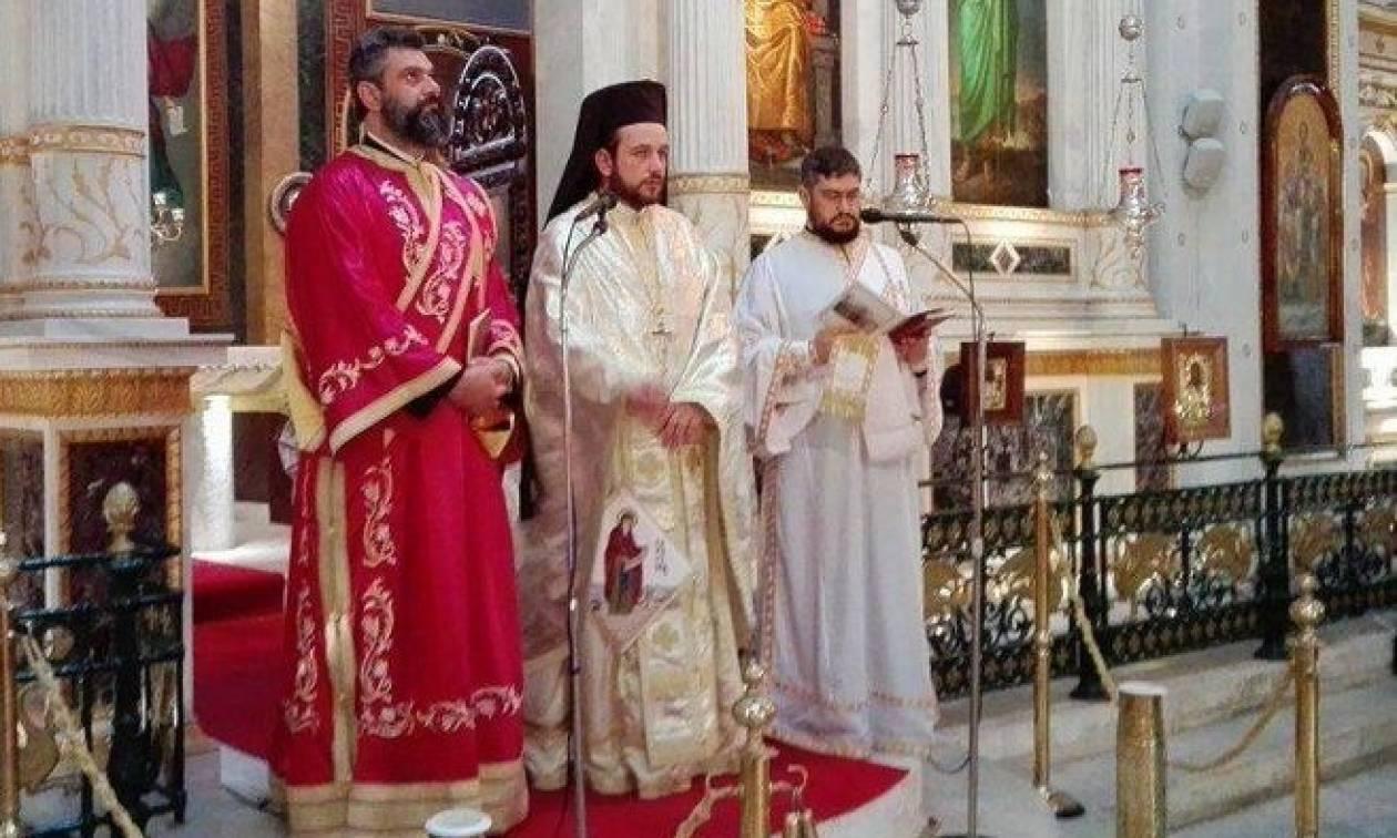 Σύρος: Η Αστυνομία τίμησε τον Προστάτη της Άγιο Αρτέμιο