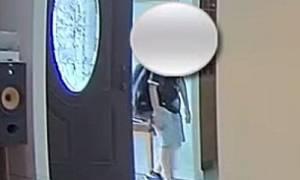Η τρομακτική στιγμή που 11χρονος έρχεται πρόσωπο με πρόσωπο με τον διαρρήκτη του σπιτιού (vid)