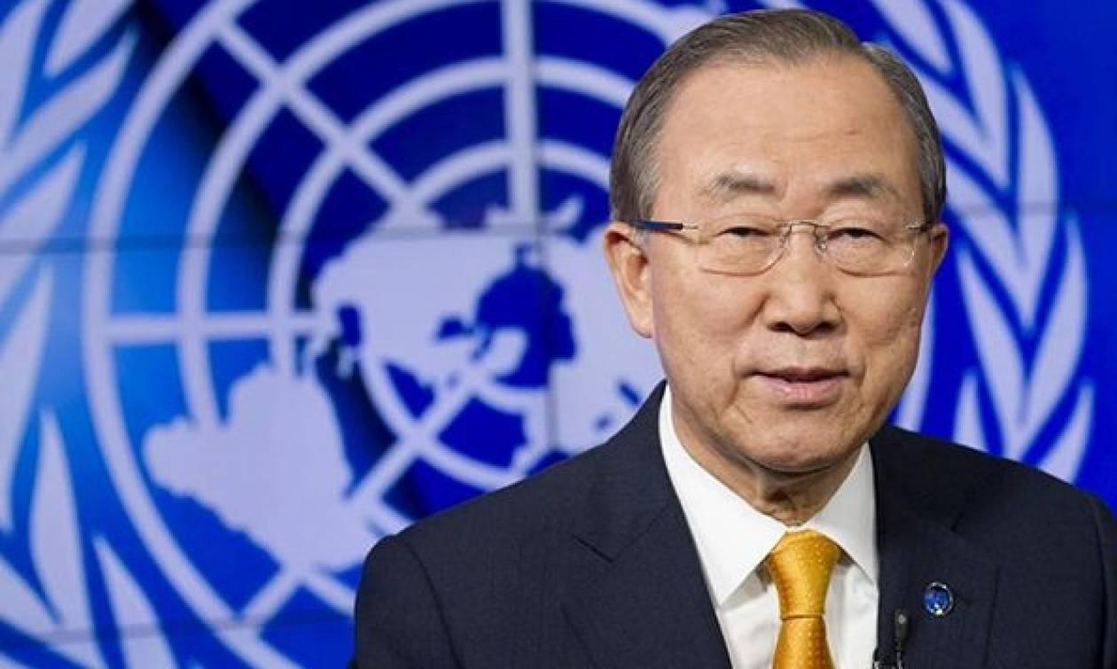 Ο Μπαν Κι-μουν προέτρεψε τη Γενική Συνέλευση να συγκαλέσει επείγουσα συνεδρία για τη Συρία