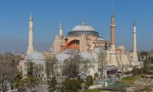 Απίστευτη πρόκληση των Τούρκων: Διόρισαν μόνιμο ιμάμη στην Αγία Σοφία!