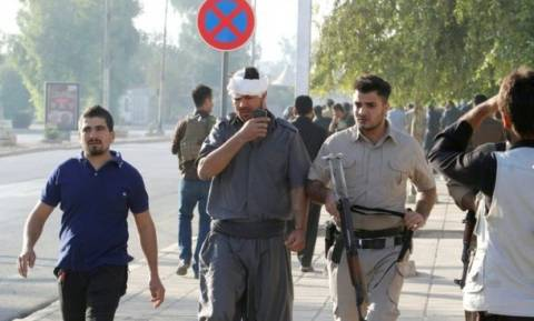 IS militants attack Iraqi city of Kirkuk as Mosul offensive continues