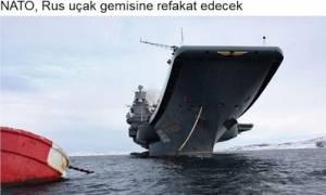 ΝΑΤΟ: Από κοντά...το ρωσικό αεροπλανοφόρο στη Μεσόγειο