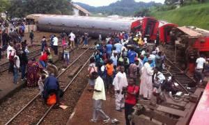 Τραγωδία στο Καμερούν: Δεκάδες νεκροί από εκτροχιασμό αμαξοστοιχίας (photos)