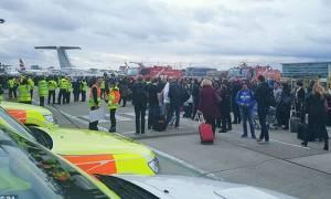 Συναγερμός στο Λονδίνο: Εκκενώθηκε το αεροδρόμιο Σίτι (videos)