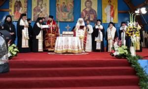 Το Ιερό Λείψανο του Αγίου Στεφάνου στο Βουκουρέστι (pics)