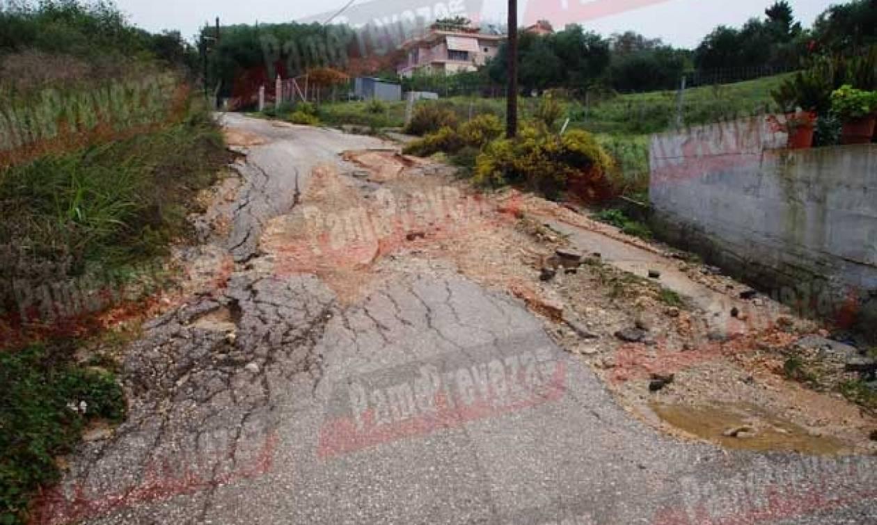 Κακοκαιρία - Πρέβεζα: «Ποτάμια» οι δρόμοι, πλημμύρισαν σπίτια και ξενοδοχεία (pic)