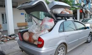 Θεσπρωτία: Το Ι.Χ. «ξεχείλιζε» από κάνναβη