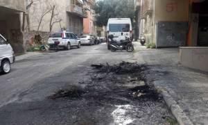 Επίθεση με μολότοφ κατά των αστυνομικών του Αλ. Φλαμπουράρη