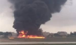 Τραγωδία: Συνετρίβη αεροσκάφος στη Μάλτα - Τουλάχιστον 5 νεκροί (vid)