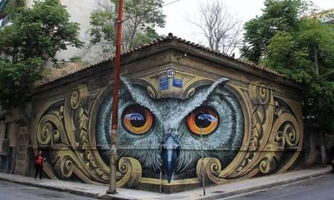 Αυτό το γκράφιτι στην Αθήνα έχει γίνει viral - Γνωρίζετε το λόγο; (photo)