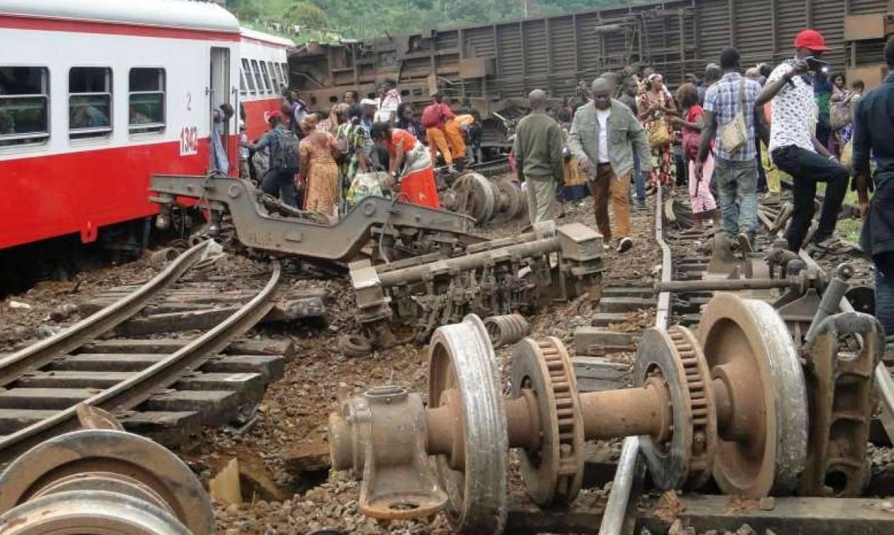 Στους 80 οι νεκροί από τον εκτροχιασμό τρένου στο Καμερούν