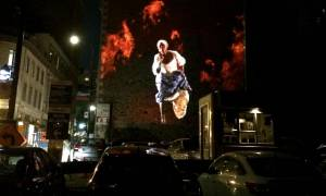 Φαντάσματα από το παρελθόν σε τοίχους του Μόντρεαλ (video+photos)