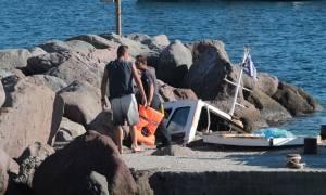 Ανατριχίλα: «Στο φως» φωτογραφίες της μοιραίας λάντζας στο βυθό της Αίγινας