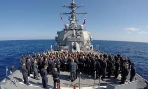 Αμερικανικό αντιτορπιλικό στη Μαύρη Θάλασσα