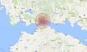 Σεισμός 3,3 Ρίχτερ κοντά στη Ναύπακτο (pics)