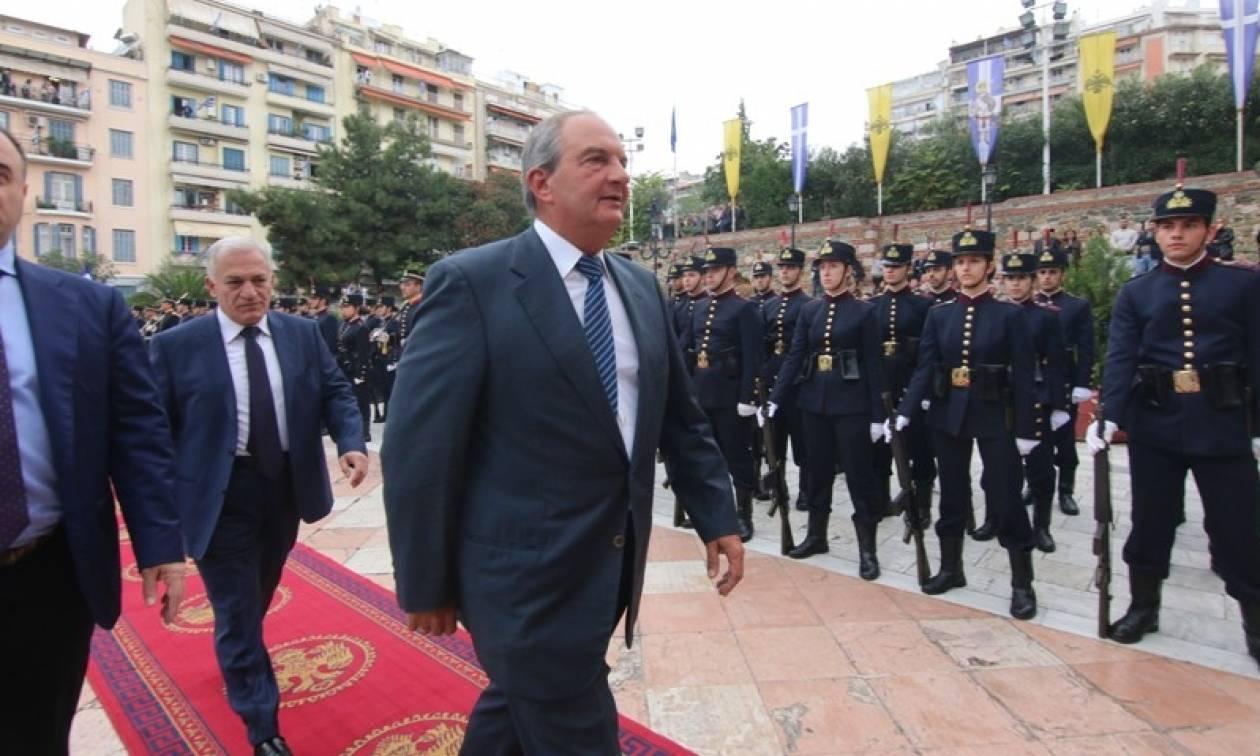 Στη Θεσσαλονίκη ο Κώστας Καραμανλής: Καταχειροκροτήθηκε στον Άγιο Δημήτριο (video)