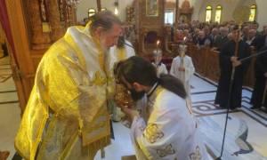 Πανηγυρική θεία λειτουργία στον Ι.Ν. Αγίου Δημητρίου του ομώνυμου δήμου Αττικής (pics)
