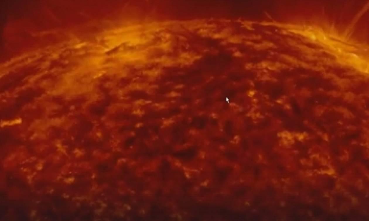 Συγκλονιστικό: Δείτε LIVE τις εκρήξεις που συμβαίνουν τώρα στην επιφάνεια του ήλιου (video)