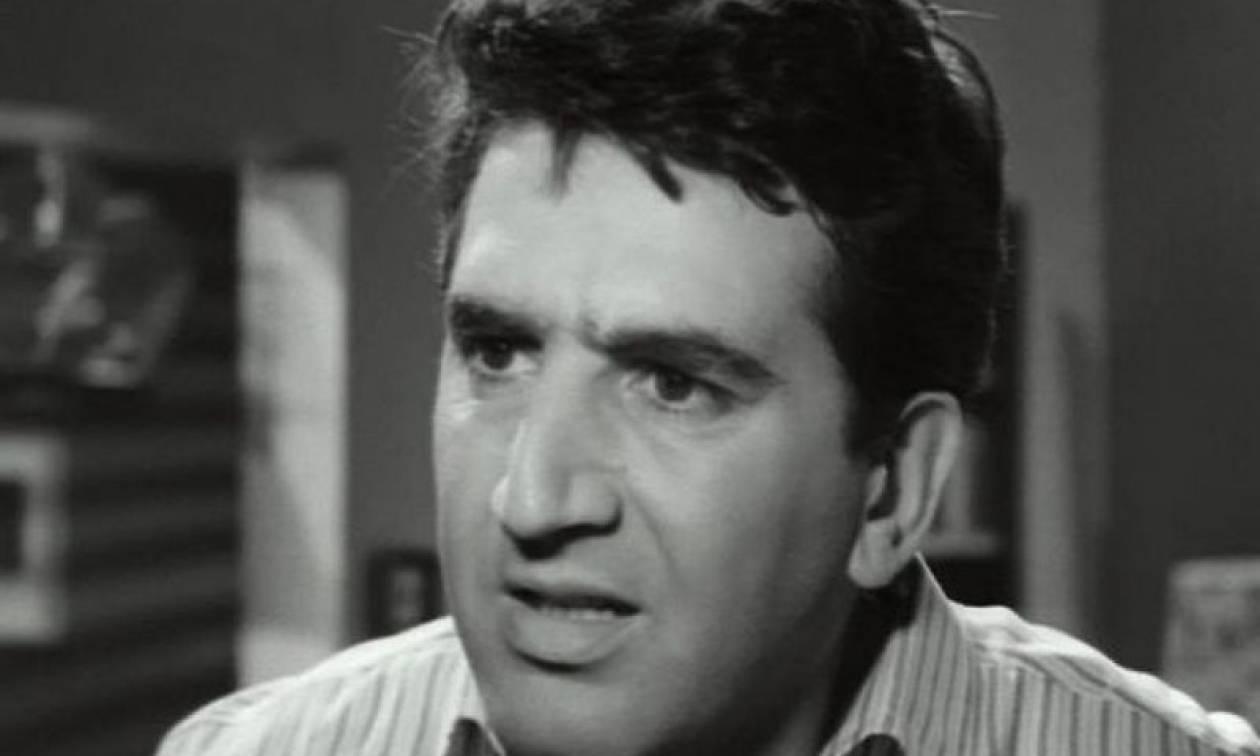Σαν σήμερα το 1934 γεννιέται ο ηθοποιός Γιώργος Κωνσταντίνου