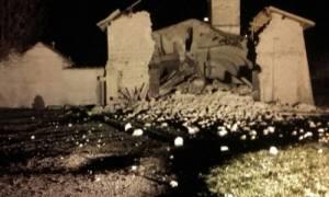 Νέος ισχυρός σεισμός «ταρακούνησε» την Ιταλία (videos+photos)