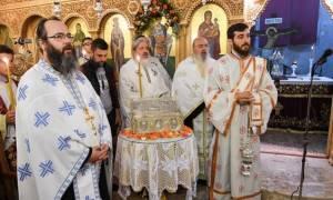 Μεταφορά τεμαχίου ιερών λειψάνων του Αγίου Δημητρίου στη Φλώρινα